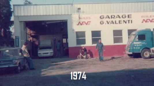 Garage Valenti 1974